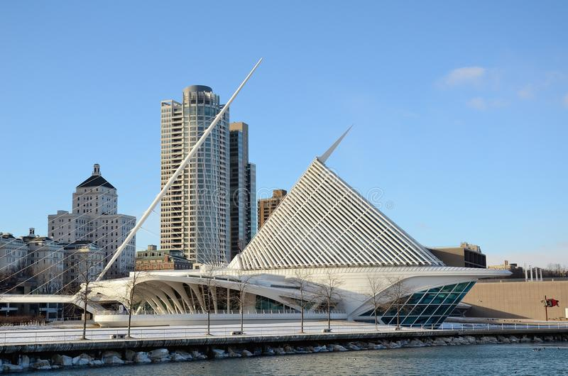 Milwaukee Art Museum stock photography
