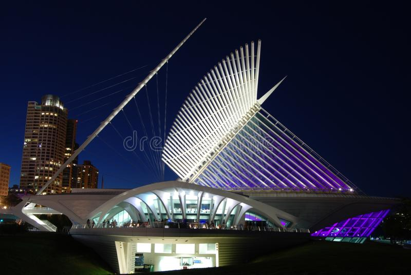 Milwaukee Art Museum lizenzfreies stockbild
