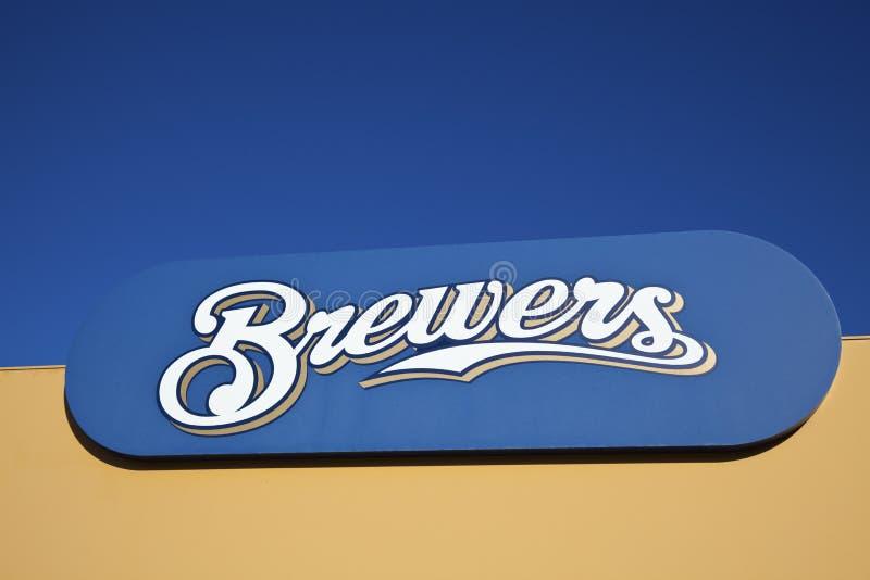 Milwaukee Brewers stockbilder