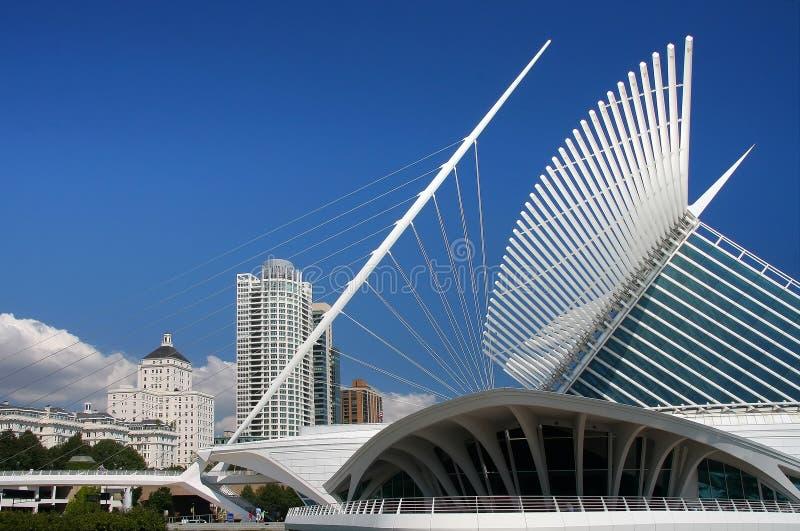 Milwaukee-calatrava lizenzfreie stockbilder