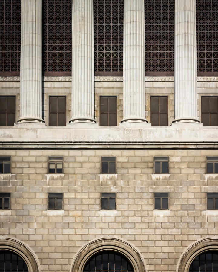 Milwaukee domstolsbyggnad royaltyfri bild