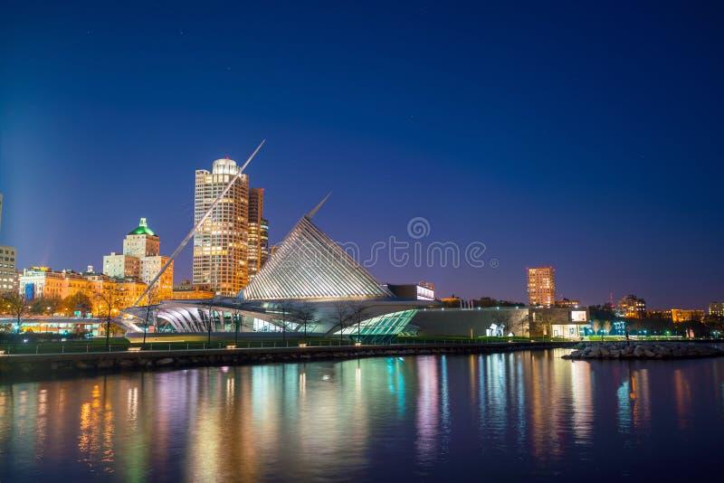 Milwaukee horisont arkivfoton
