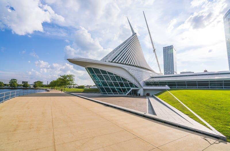 Milwaukee-Kunstmuseum, Milwaukee, wi, USA, 8-9-17: Milwaukee-Kunst mus lizenzfreie stockfotos