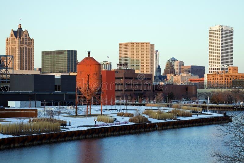 Milwaukee panorâmico imagem de stock royalty free