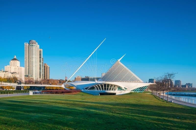 Milwaukee-Skyline in USA lizenzfreies stockfoto