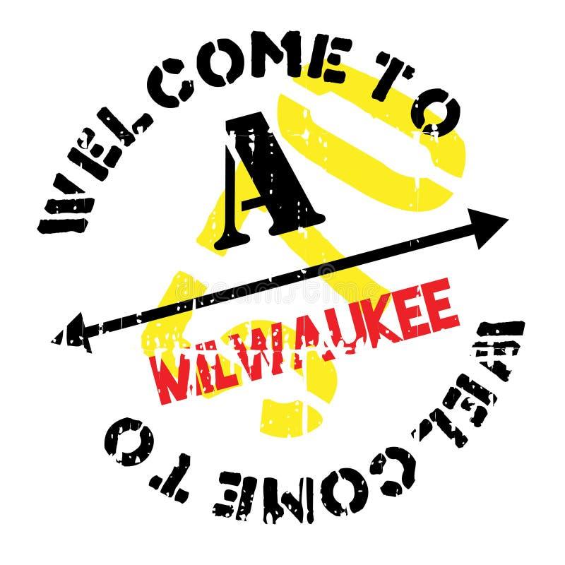 Milwaukee-Stempelgummischmutz stockfotografie