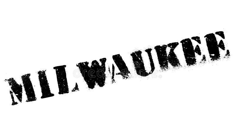 Milwaukee-Stempelgummischmutz lizenzfreie stockfotografie