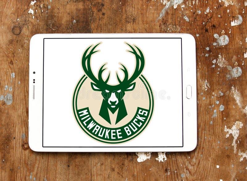Milwaukee sträubt sich Basketball-Team-Logo lizenzfreies stockbild