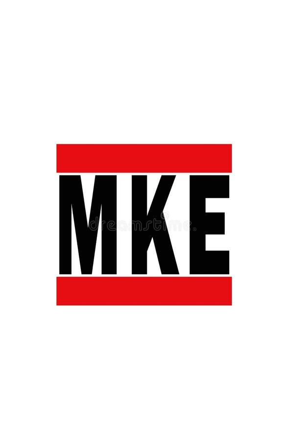 Milwaukee, Wisconsin stock de ilustración