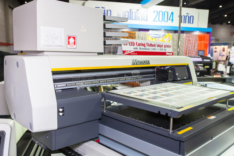 MIMAKI printer editorial stock image  Image of inkjet - 45626004