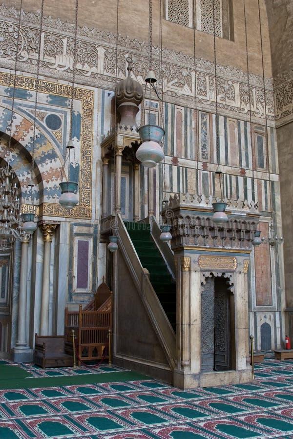 Mimbar de Hasan de sultan photos stock