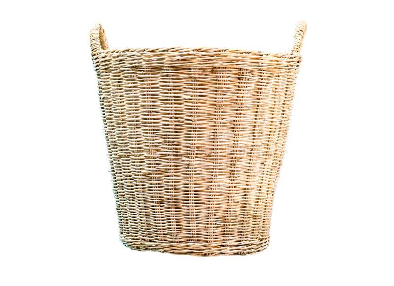 Mimbre de la cesta imagenes de archivo