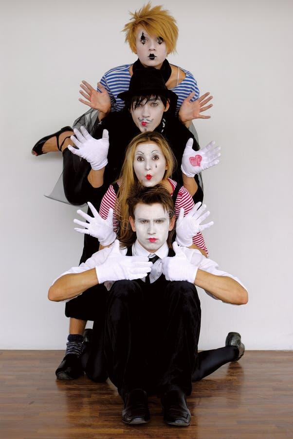 mime στοκ εικόνες