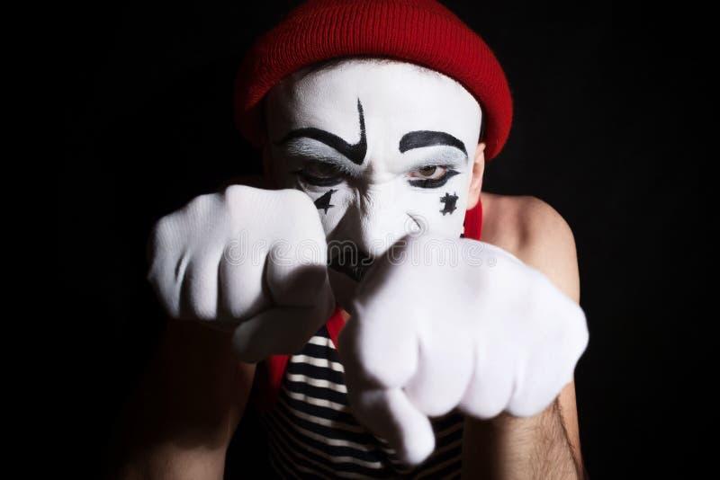 mime royalty-vrije stock foto