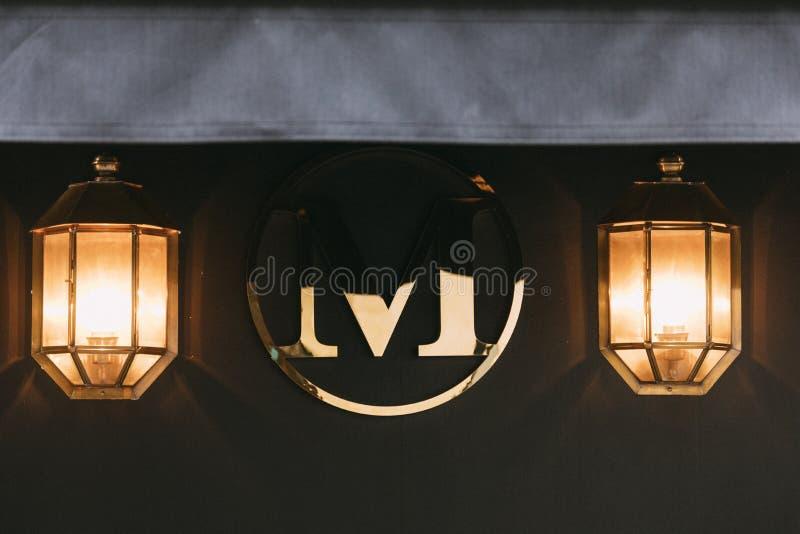 Mimi hotell för ` s Soho - London fotografering för bildbyråer