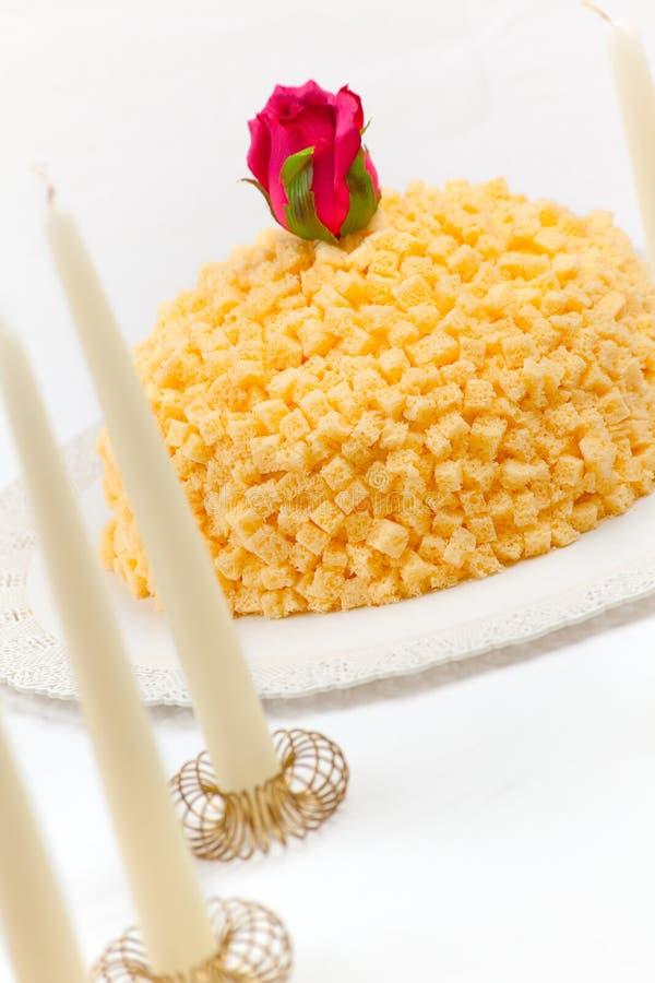 Download Mimosa Cake Royalty Free Stock Image - Image: 13873346