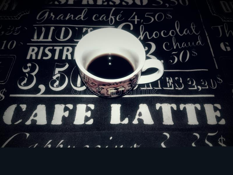 min coffe fotografering för bildbyråer