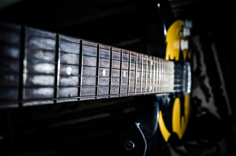 Download Min gitarr fotografering för bildbyråer. Bild av rytm - 27277211