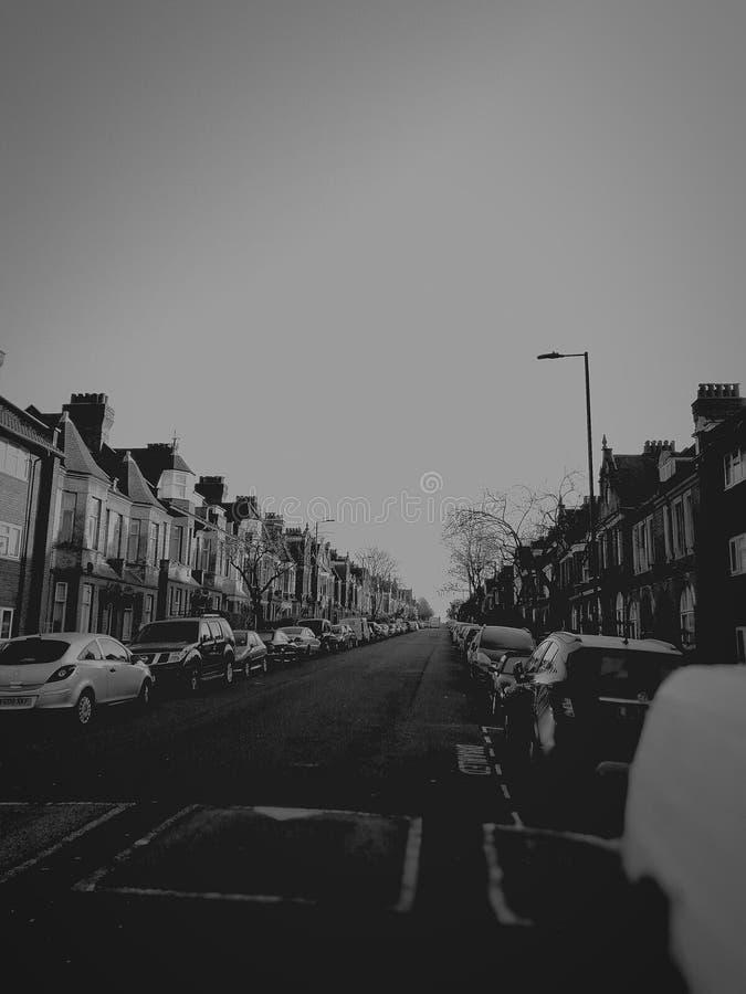 Min hemstad arkivbild