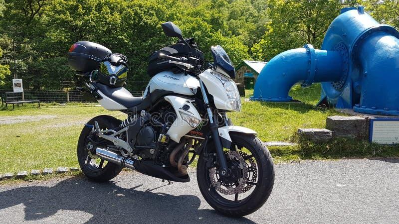 Min motorcykel royaltyfri bild