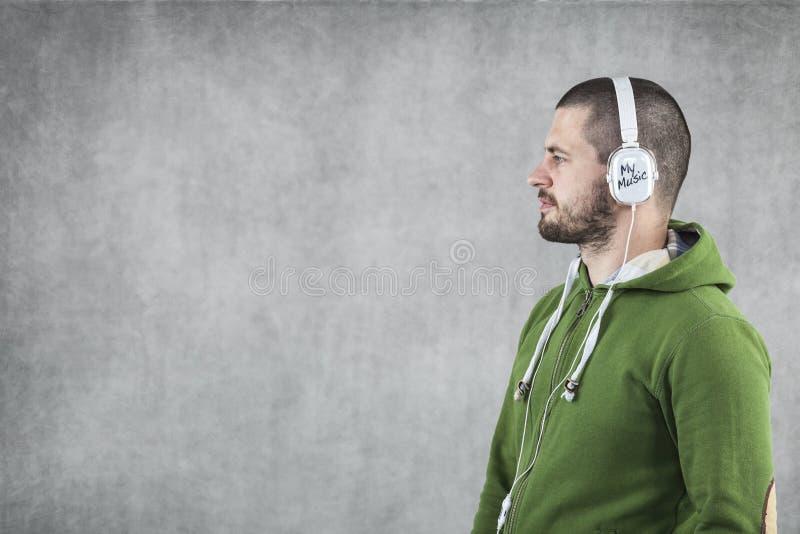 Min musik, min värld royaltyfria foton