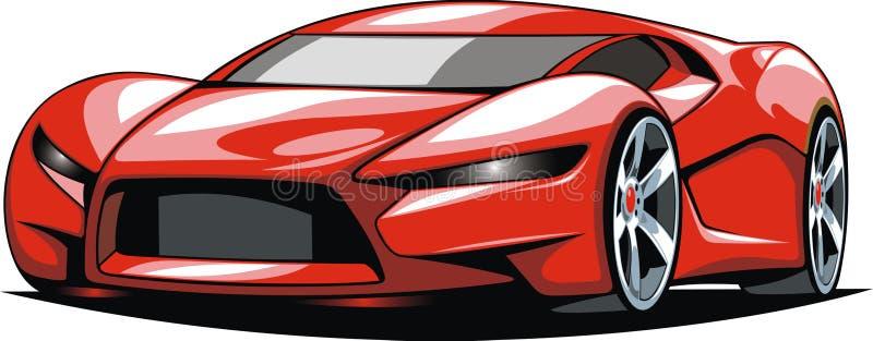 Min original- design för sportbil vektor illustrationer