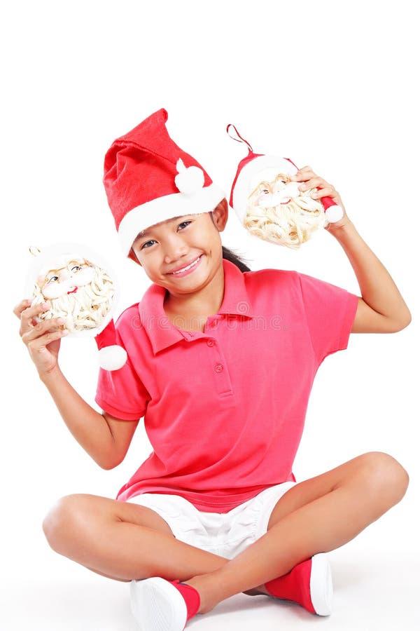 Min Santa Claus royaltyfri foto