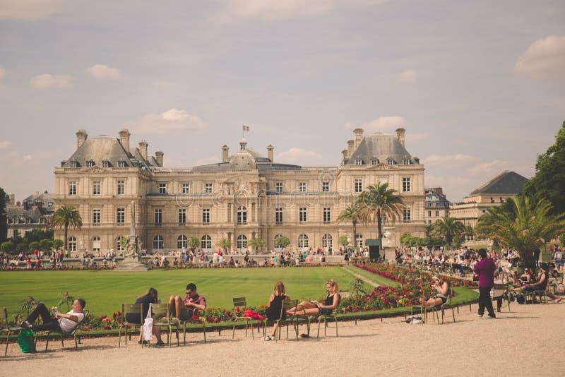 Min sista gången i Paris, Frankrike royaltyfria foton