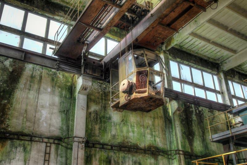 Mina abandonada del hierro en las montañas del mineral fotografía de archivo libre de regalías