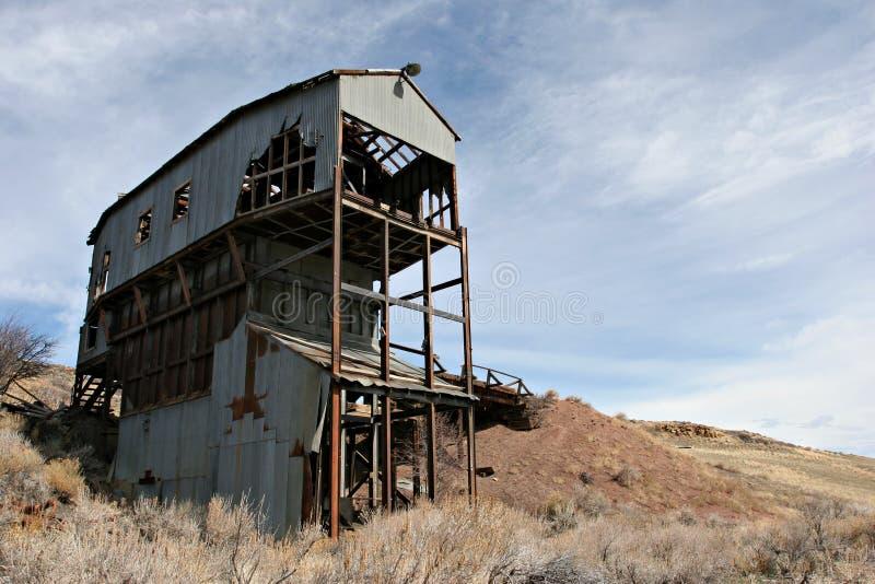 Mina de carbón abandonada foto de archivo libre de regalías