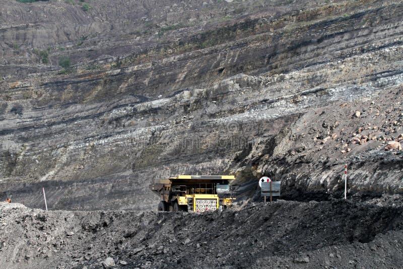 Mina de carvão imagens de stock