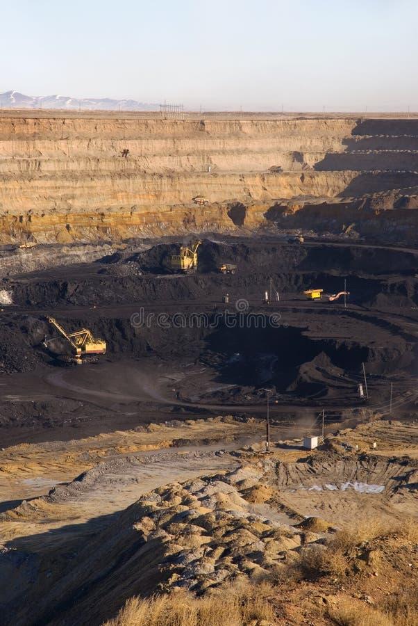 Mina de carvão fotos de stock royalty free