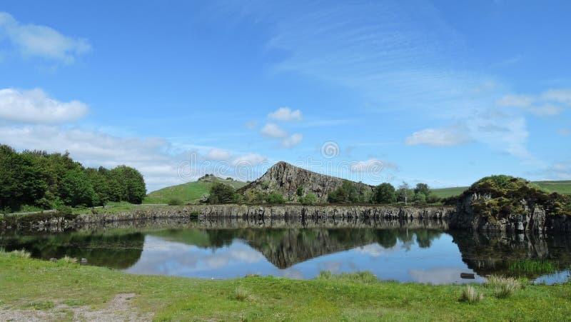 Mina de Cawfields en Northumberland fotos de archivo