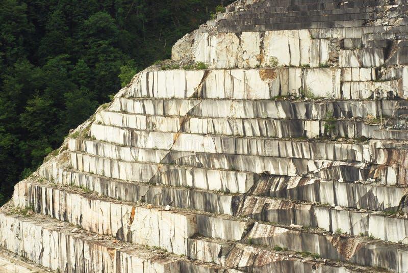 Mina de mármol imagen de archivo libre de regalías