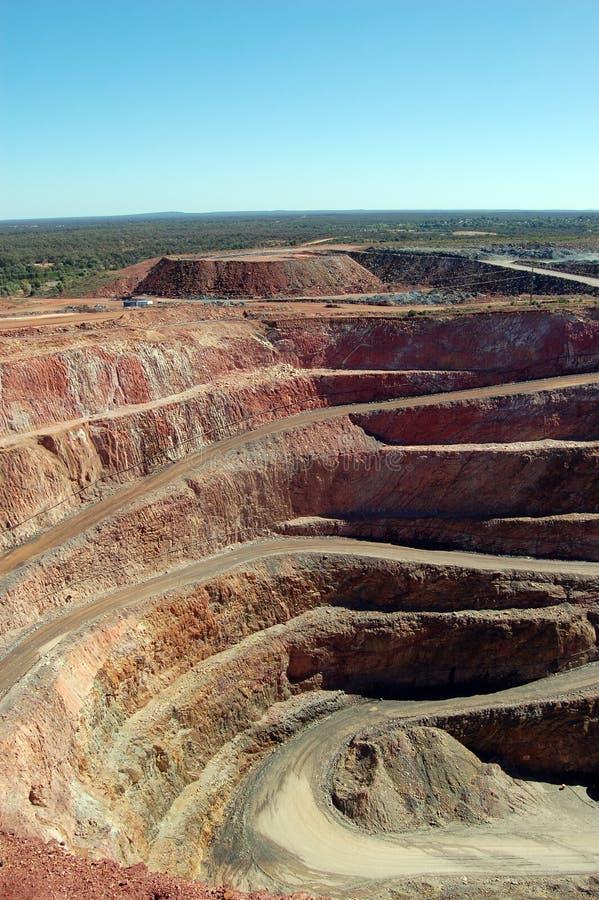 Mina de ouro Austrália de Cobar imagens de stock royalty free