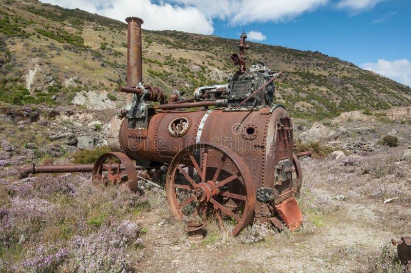 Mina de ouro velho em Otago central imagem de stock royalty free