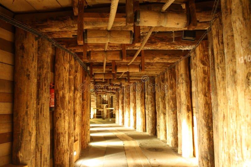 Mina de sal de Wieliczka (Poland) fotos de stock royalty free