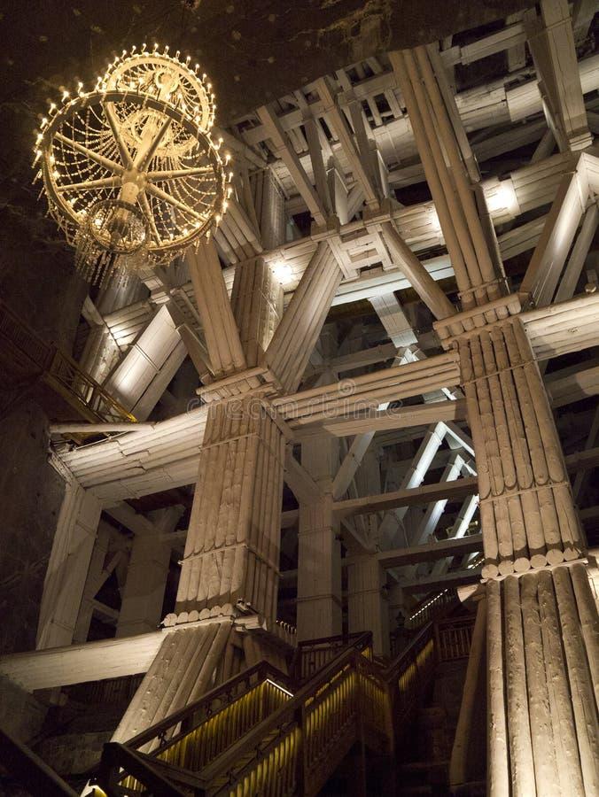 Mina de sal de Wieliczka - Poland foto de stock royalty free