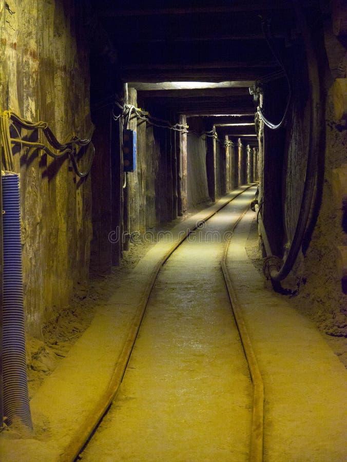 Mina de sal de Wieliczka - Poland imagem de stock