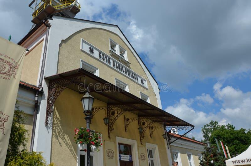 Mina de sal de Wieliczka, Polonia fotografía de archivo
