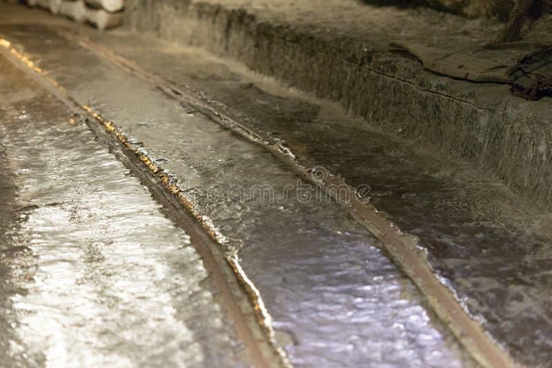 Mina de Wieliczka imagem de stock