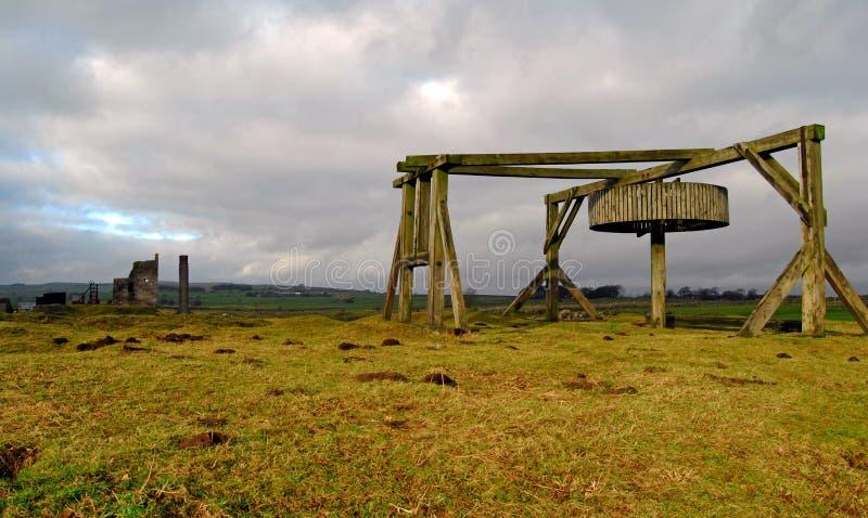 Mina em Sheldon, Derbyshire do Magpie imagens de stock