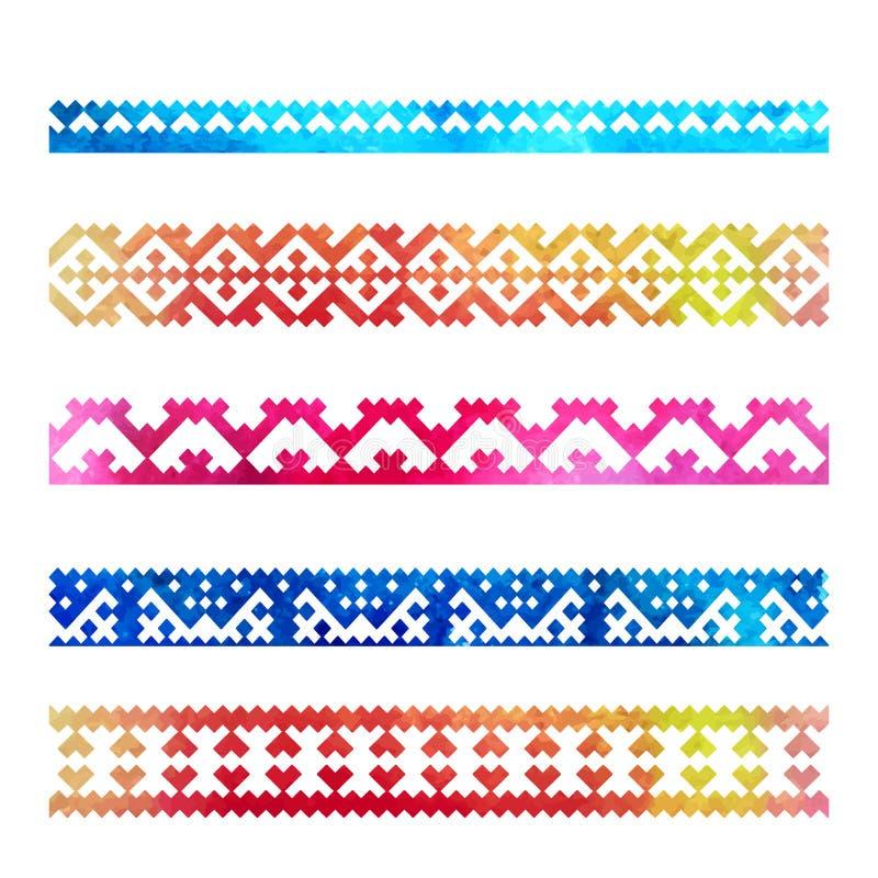 Mina färger royaltyfri illustrationer