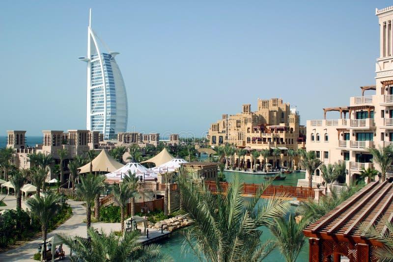 Mina Salam Hotel à Dubaï image stock
