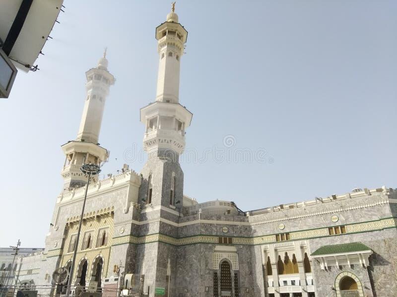 Minaar del shareef del haram fotografía de archivo libre de regalías