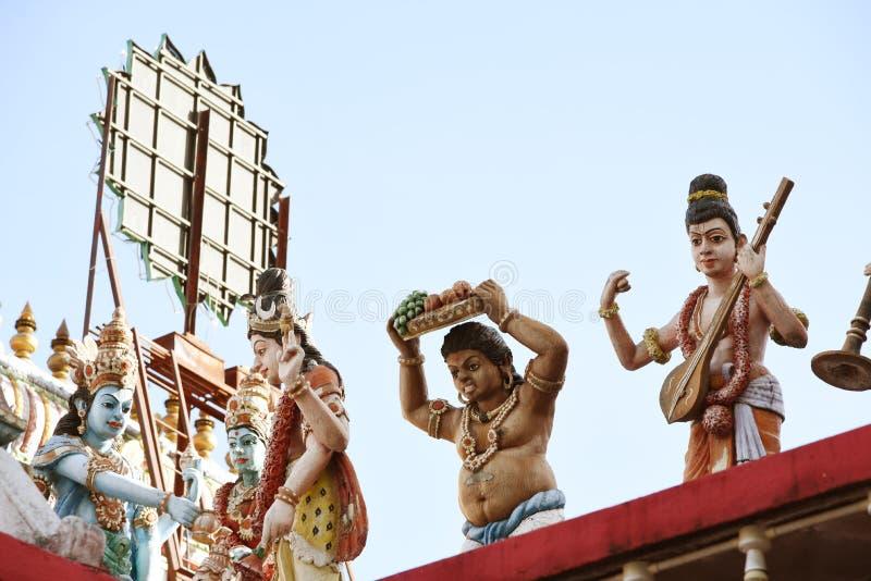 Minakshi Sundareshvara Hindu Temple - India. The Minakshi Sundareshvara Hindu Temple in the town of Madurai in the Tamil Nadu region of southern India stock images