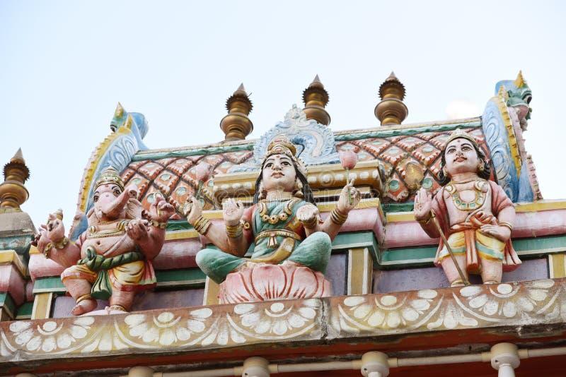 Minakshi Sundareshvara Hindu Temple - India. The Minakshi Sundareshvara Hindu Temple in the town of Madurai in the Tamil Nadu region of southern India royalty free stock photo