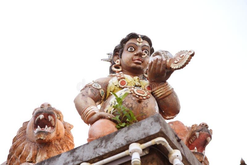 Minakshi Sundareshvara Hindu Temple - India. The Minakshi Sundareshvara Hindu Temple in the town of Madurai in the Tamil Nadu region of southern India stock photography