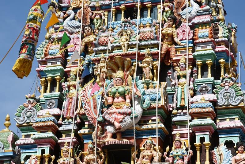 India temple. The Minakshi Sundareshvara Hindu Temple in Madurai in the Tamil Nadu region of Southern India royalty free stock photo