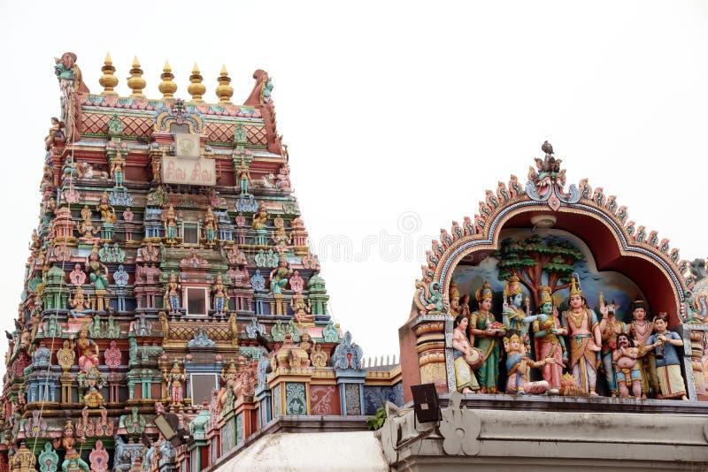 Minakshi Sundareshvara Temple - Madurai - India. The Minakshi Sundareshvara Hindu Temple in Madurai in the Tamil Nadu region of Southern India stock images